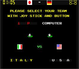 Select Screen for Mexico 86.