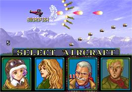 Select Screen for P-47 Aces.