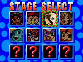 Select Screen for Panic Street.