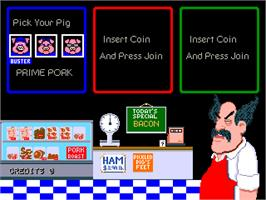 Select Screen for Pig Out: Dine Like a Swine!.