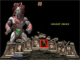Select Screen for Primal Rage 2.