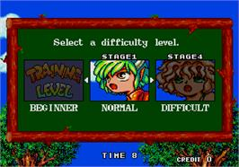 Select Screen for Puyo Puyo.