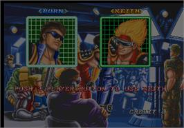 Select Screen for Riding Fight.