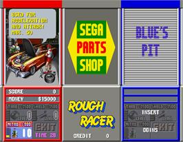 Select Screen for Rough Racer.