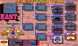 Select Screen for Slam Dunk.