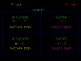 Select Screen for Space Duel.