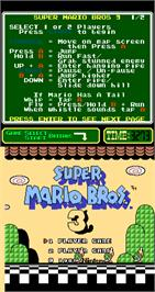 Select Screen for Super Mario Bros. 3.