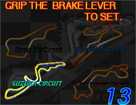 Select Screen for Suzuka 8 Hours 2.
