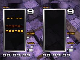 Select Screen for Tetris the Absolute The Grand Master 2.