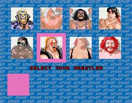 Select Screen for The Main Event.