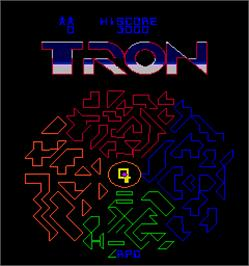 Select Screen for Tron.