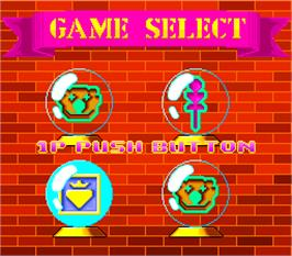 Select Screen for Twin Adventure.