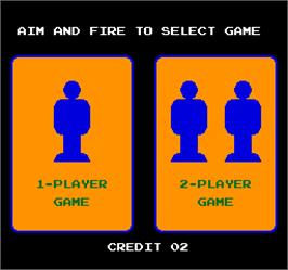 Select Screen for Vs. Hogan's Alley.
