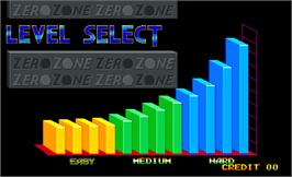 Select Screen for Zero Zone.