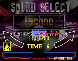 Select Screen for beatmania.
