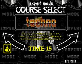 Select Screen for beatmania 2nd MIX.
