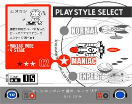 Select Screen for beatmania Club MIX.