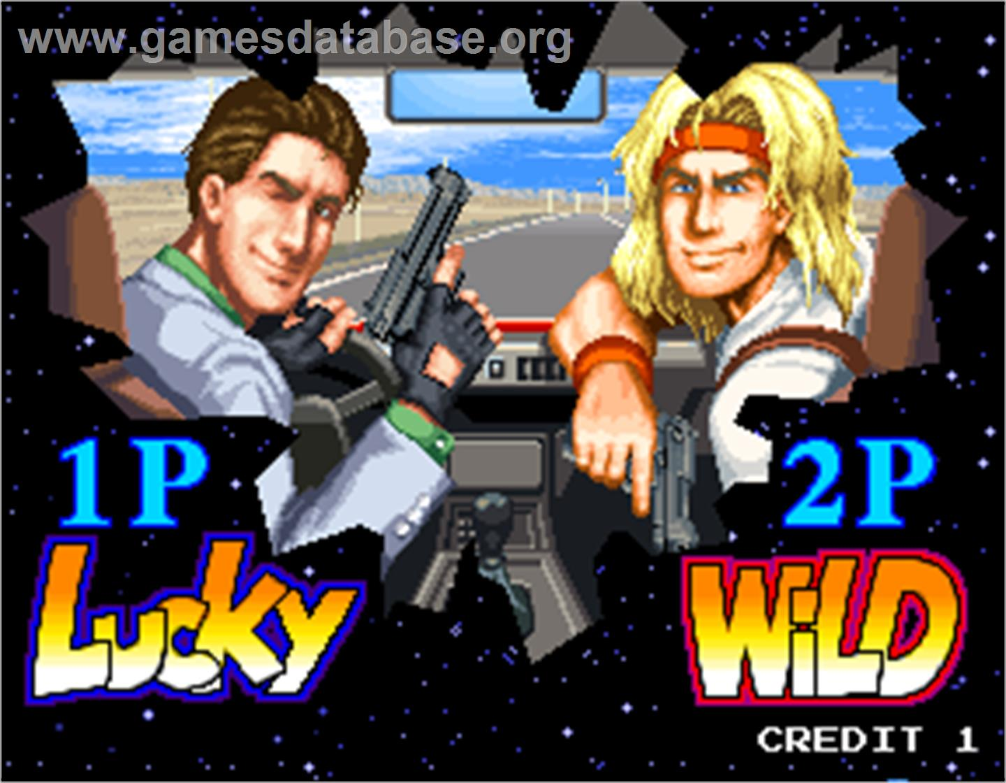 Lucky & Wild - Arcade - Artwork - Select Screen