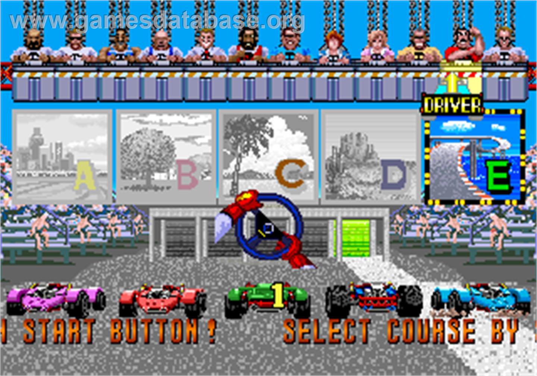 Power Drift - Arcade