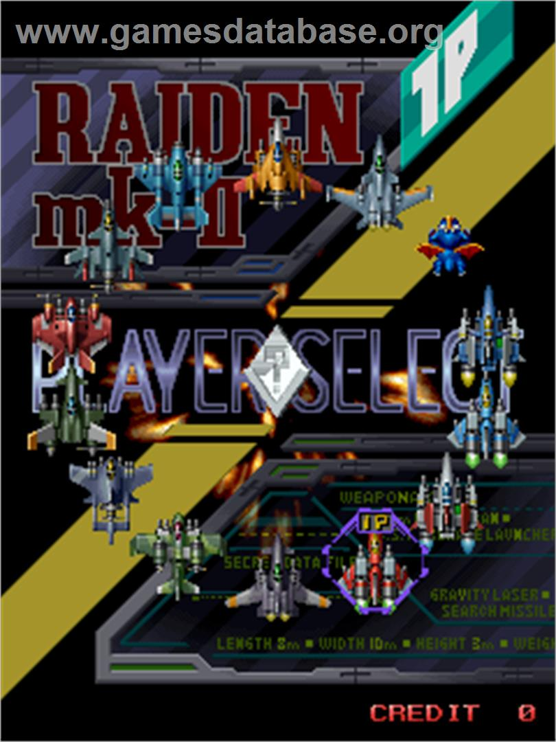 Raiden Fighters Jet - Arcade - Games Database
