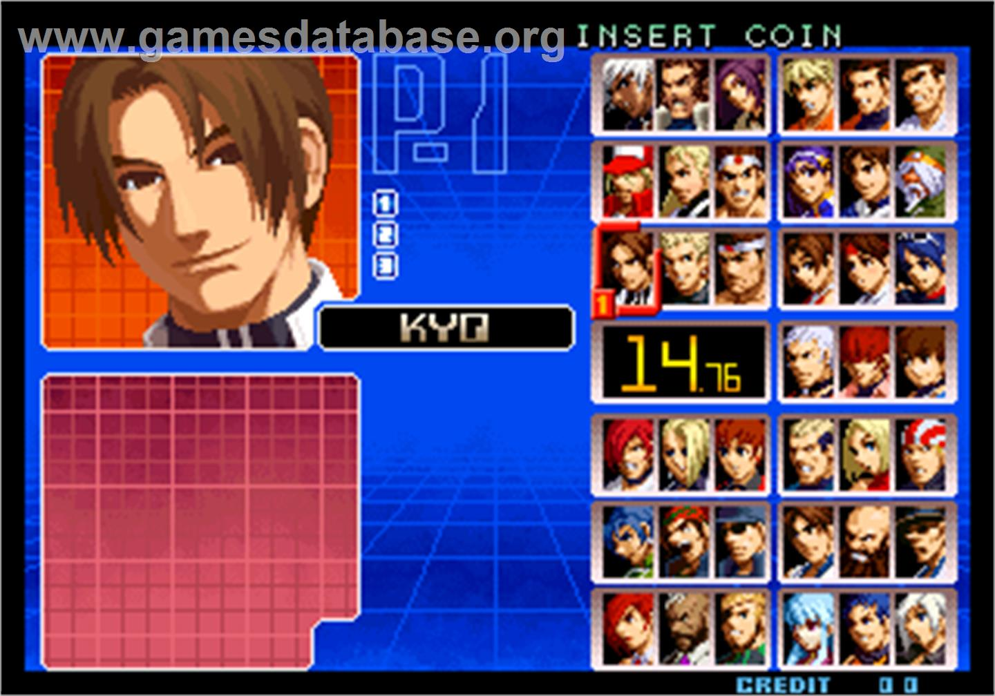 king of fighters flash game