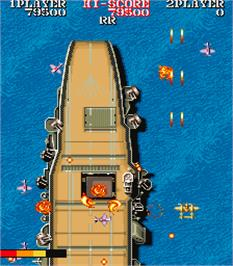 In game image of 1943: The Battle of Midway on the Arcade.