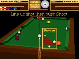 In game image of 9-Ball Shootout Championship on the Arcade.