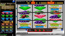 In game image of Action 2000 on the Arcade.
