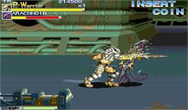 In game image of Alien vs. Predator on the Arcade.