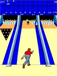 In game image of Alley Master on the Arcade.