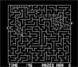 In game image of Amazing Maze on the Arcade.