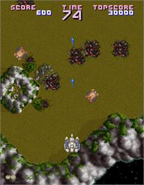In game image of Assault on the Arcade.