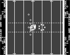 In game image of Atari Football on the Arcade.