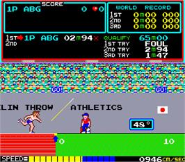 In game image of Atlant Olimpic on the Arcade.