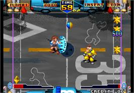 In game image of Bang Bead on the Arcade.