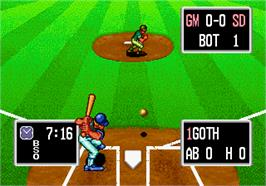 In game image of Baseball Stars Professional on the Arcade.