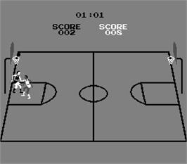 In game image of Basketball on the Arcade.