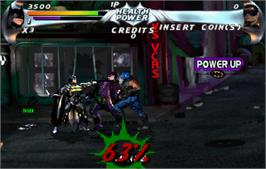 In game image of Batman Forever on the Arcade.