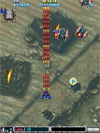 In game image of Batsugun - Special Version on the Arcade.