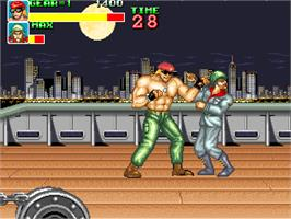 In game image of Big Fight - Big Trouble In The Atlantic Ocean on the Arcade.