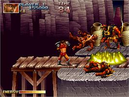 In game image of Blade Master on the Arcade.