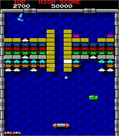 In game image of Block 2 on the Arcade.