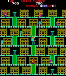 In game image of Boggy '84 on the Arcade.