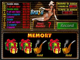 In game image of Bra$il on the Arcade.