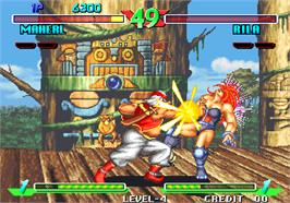 In game image of Breakers on the Arcade.