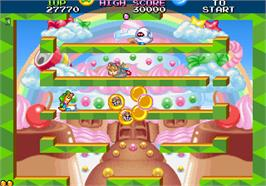 In game image of Bubble Symphony on the Arcade.