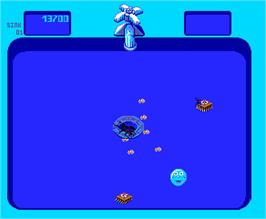 In game image of Bubbles on the Arcade.