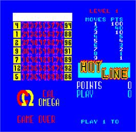 In game image of Cal Omega - Game 24.6 on the Arcade.