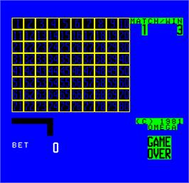 In game image of Cal Omega - Game 9.4 on the Arcade.