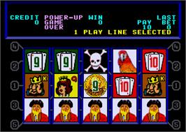 In game image of Caribbean Gold II on the Arcade.